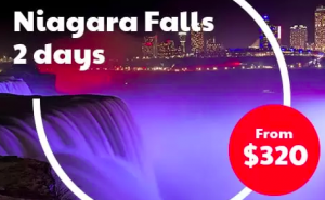 Niagara Falls and Outlet Tour
