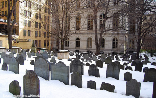 Cemeteries to visit in Boston