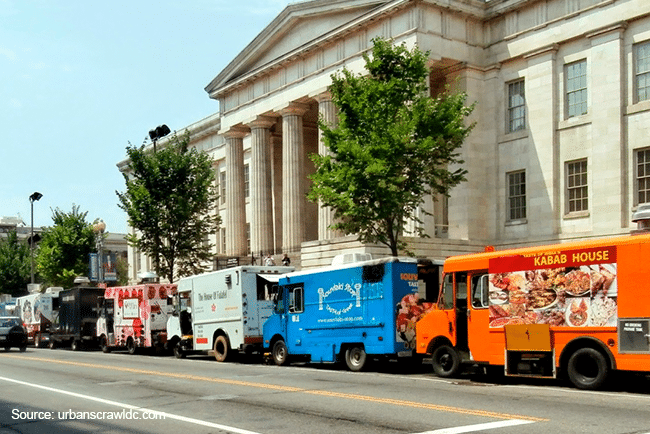 Food Trucks in Washington