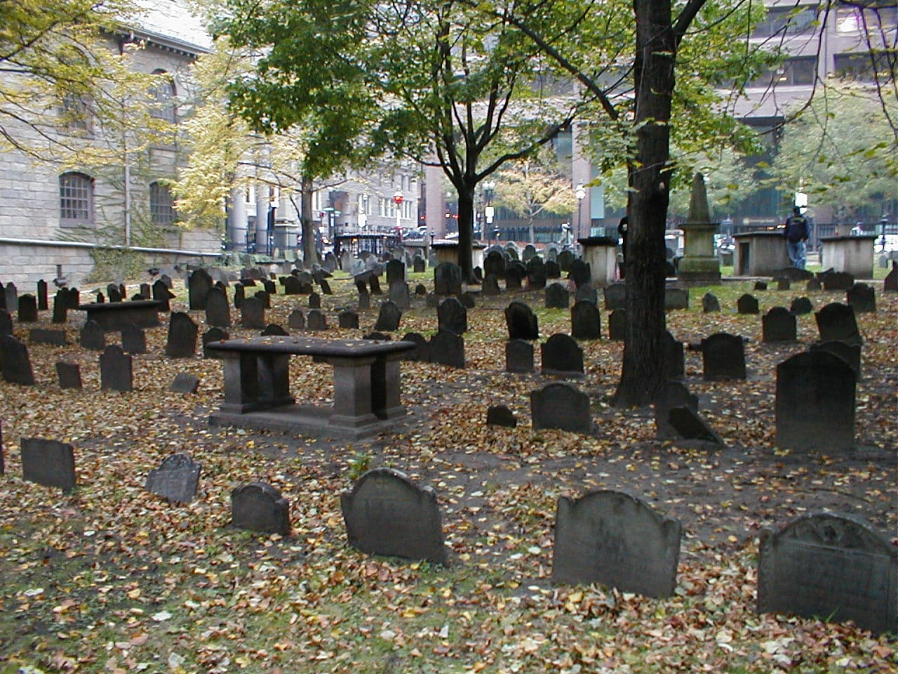 Kings Chapel Burying Ground - Boston