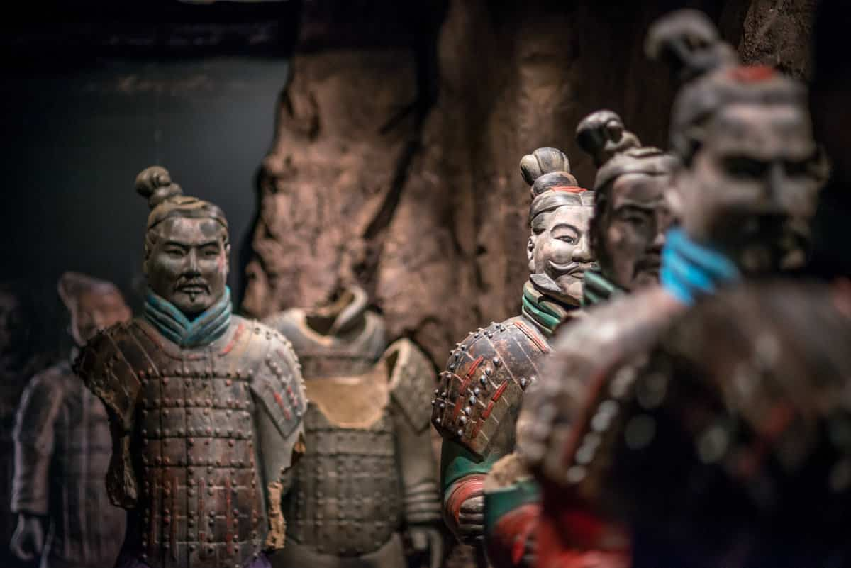 Terracotta Warriors of the First Emperor at The Franklin Institute