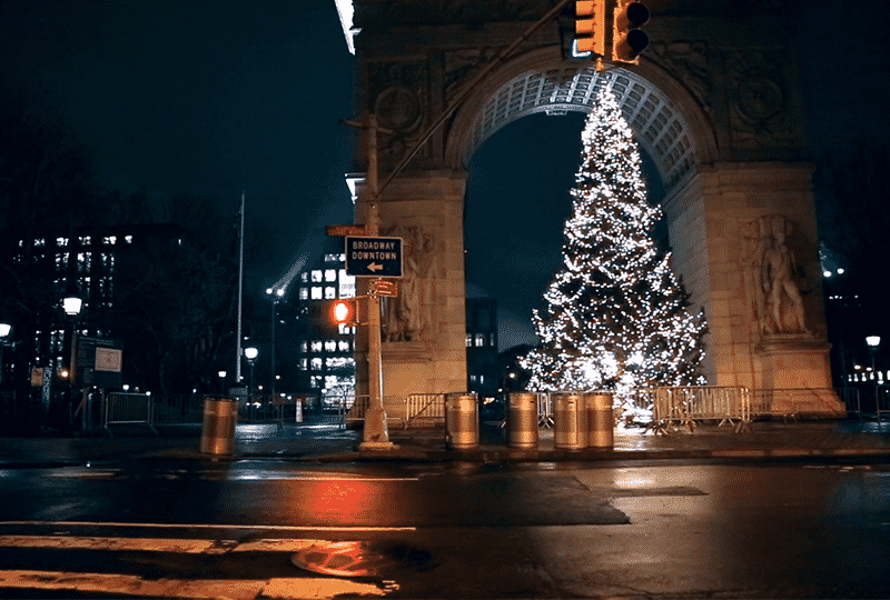 Christmas Lit New York