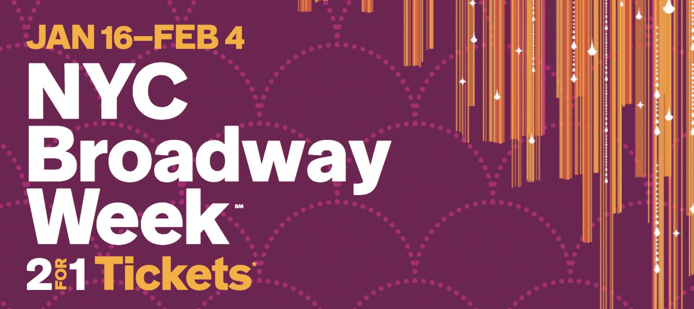 NYC Broodway Week