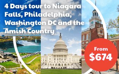 Niagara Philadelphia Amish and Washington Tour