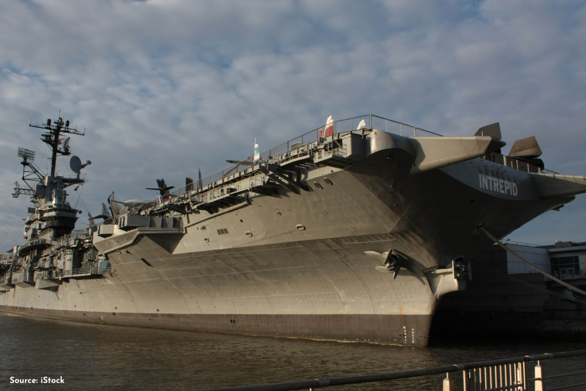 The Intrepid Sea