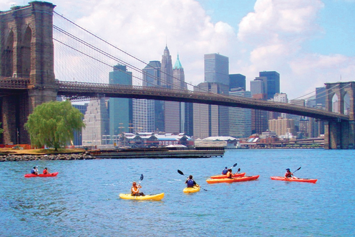 Free Kayaking in NYC