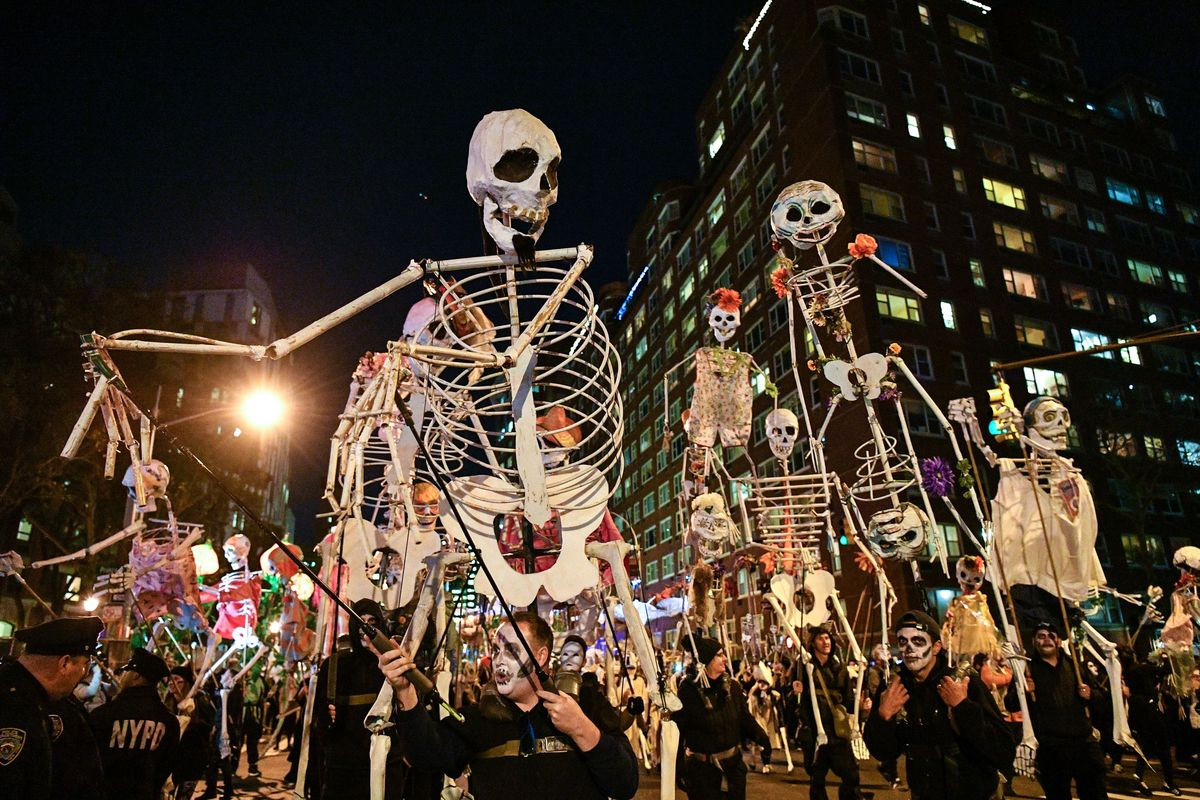 The Village Halloween Parade