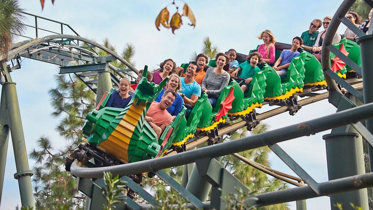 Legoland's Dragon Coaster
