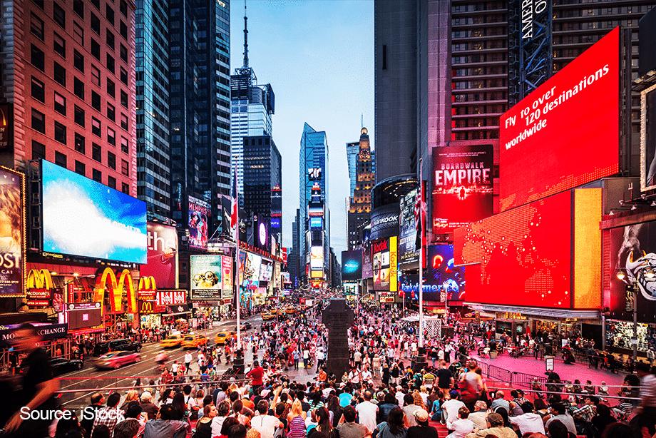 January in New York