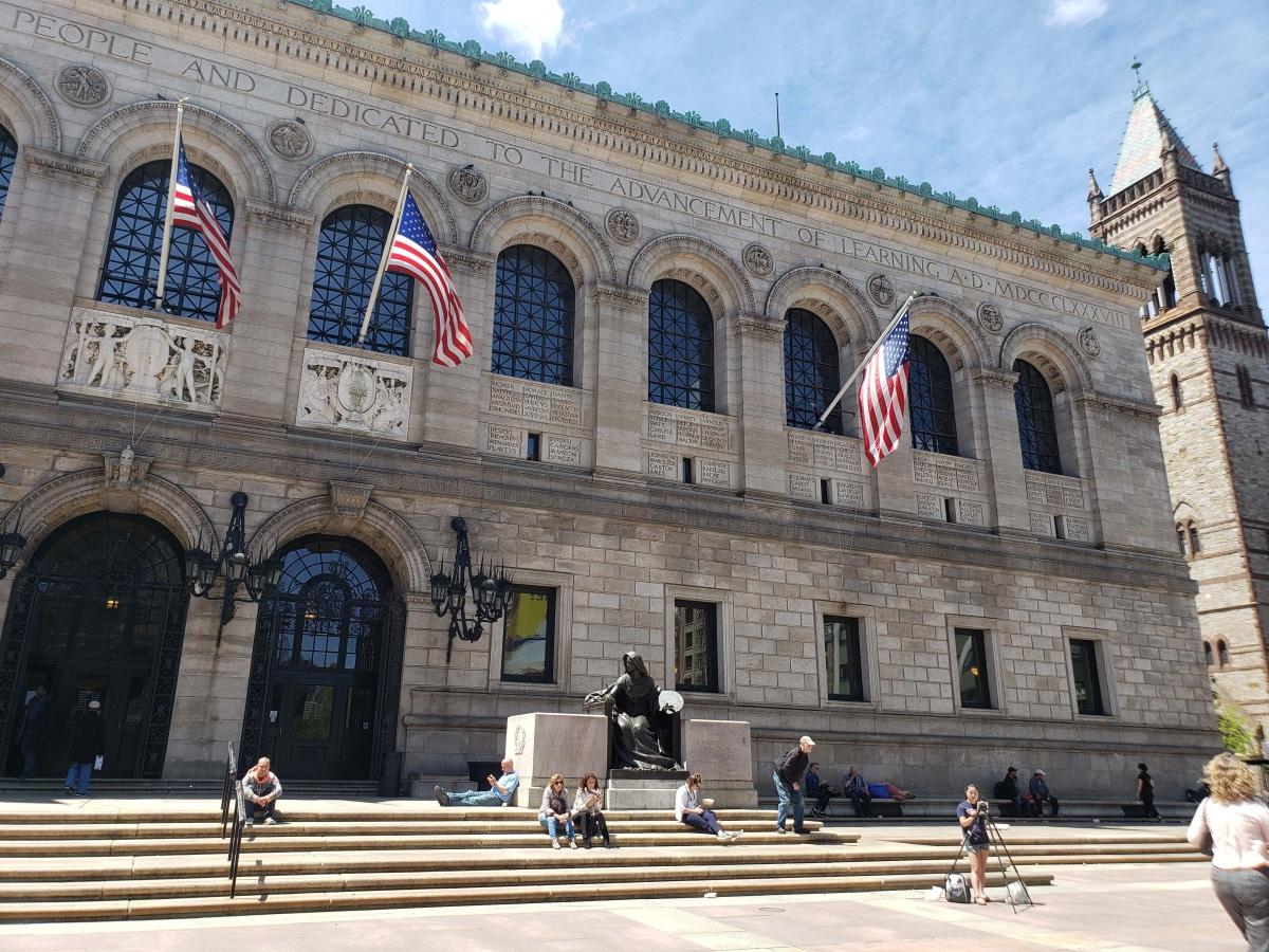 The Boston Library