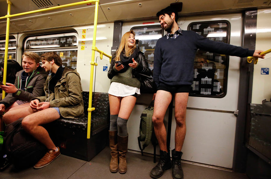 The No Pants Day